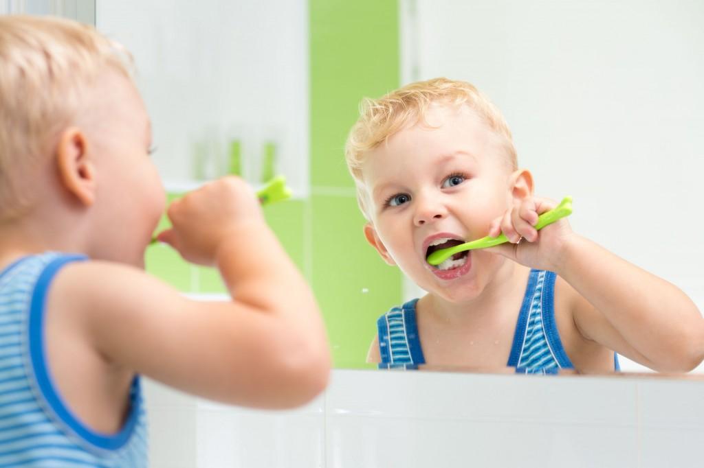 higiene bucodental infantil