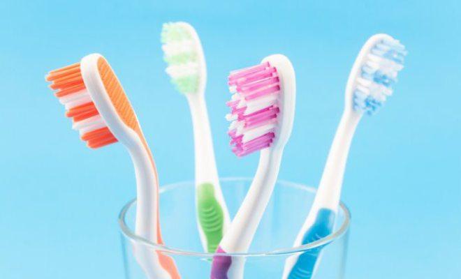 Limpieza cepillo de dientes